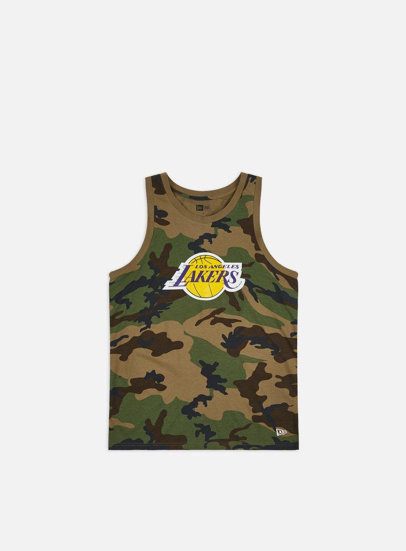 New Era NBA Camo Tank LA Lakers
