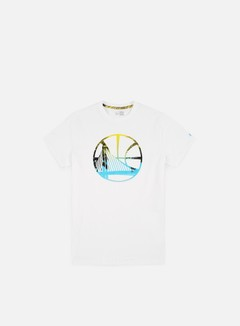 New Era NBA Coastal Heat Infill T-shirt Golden State Warriors