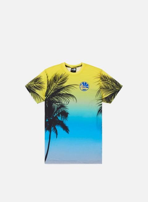 All Over Print T-shirts New Era NBA Coastal Heat T-shirt Golden State Warriors