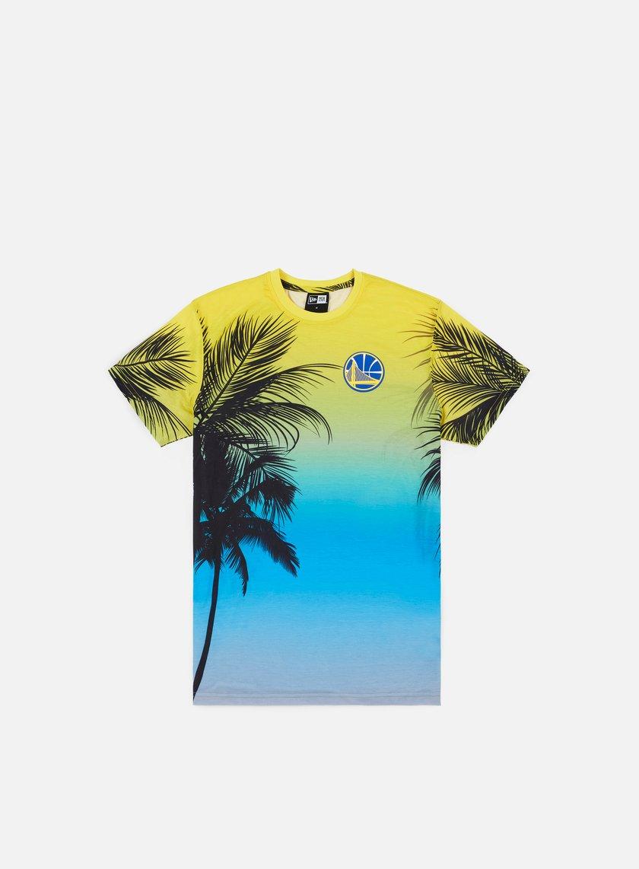 New Era NBA Coastal Heat T-shirt Golden State Warriors