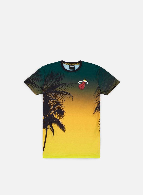 New Era NBA Coastal Heat T-shirt Miami Heat