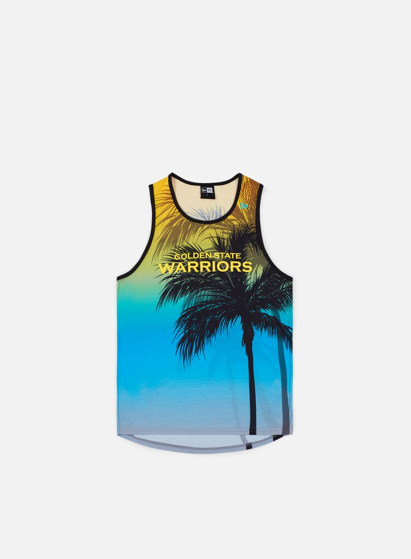 NEW ERA NBA Coastal Heat Tank Golden State Warriors € 15 Tank Top ... 5a4c71142