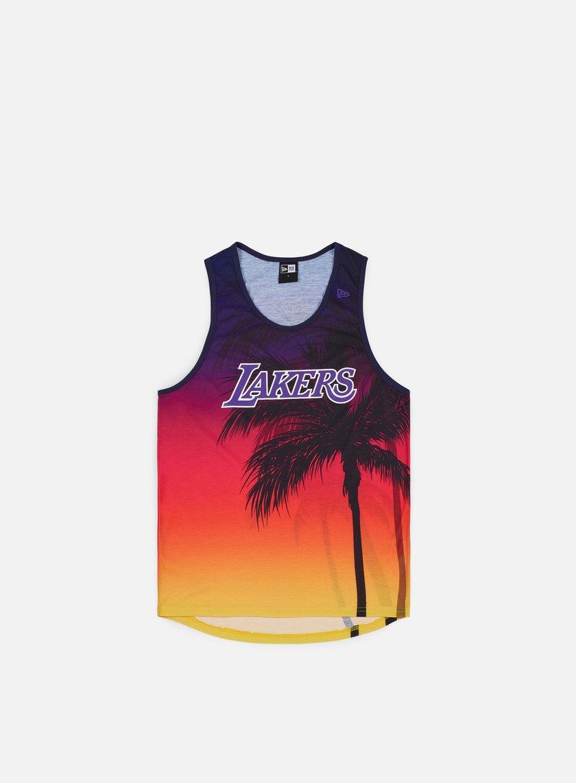 NEW ERA NBA Coastal Heat Tank LA Lakers € 29 Canotte  8f6626cbbf5d