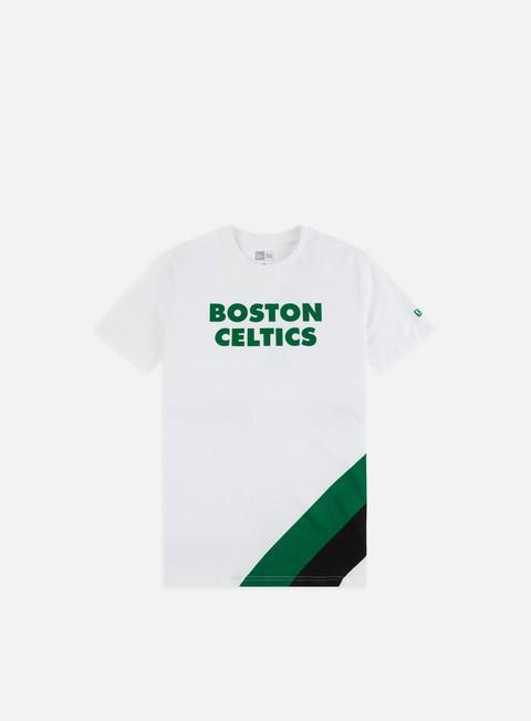 Outlet e Saldi T-shirt a Manica Corta New Era NBA Colour Block T-shirt Boston Celtics