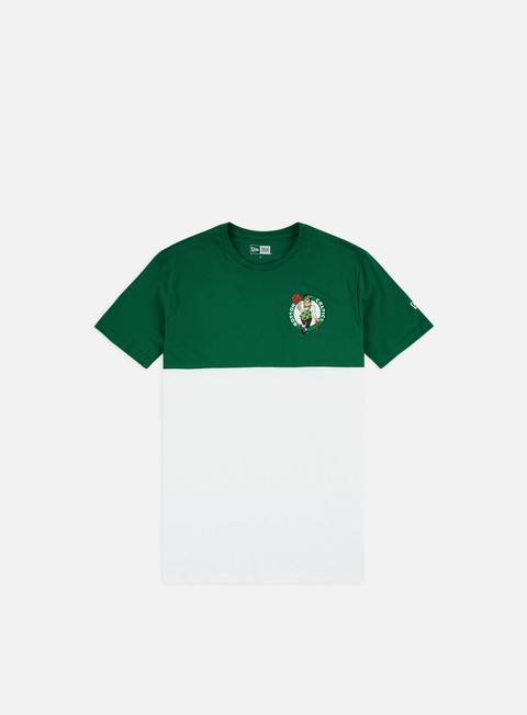 Outlet e Saldi T-shirt a Manica Corta New Era NBA Colour Block T-shirt Boston Celtics