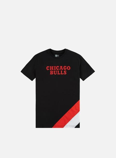 Outlet e Saldi T-shirt a Manica Corta New Era NBA Colour Block T-shirt Chicago Bulls