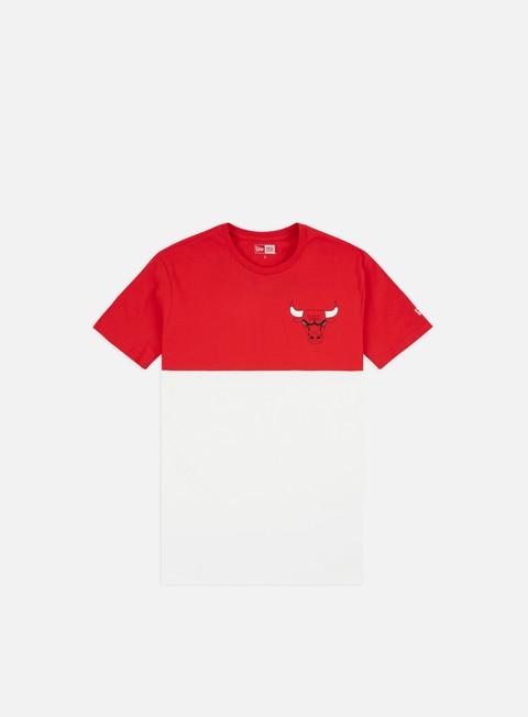 T-shirt a manica corta New Era NBA Colour Block T-shirt Chicago Bulls