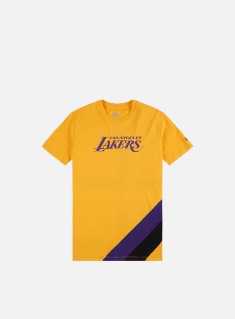 Outlet e Saldi T-shirt a Manica Corta New Era NBA Colour Block T-shirt LA Lakers