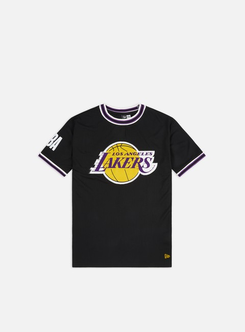 Sport Team T-shirts New Era NBA Oversized Applique T-shirt LA Lakers