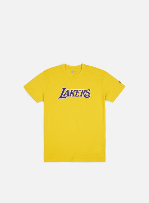 Outlet e Saldi T-shirt a Manica Corta New Era NBA Team Apparel T-shirt Los Angeles Lakers