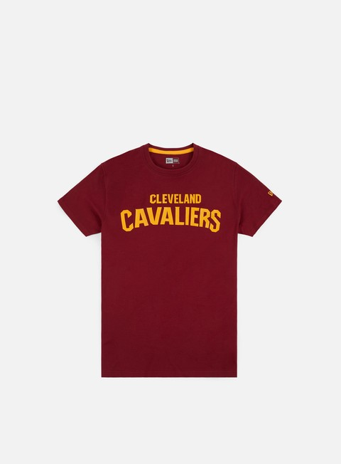 Short Sleeve T-shirts New Era NBA Team Pop Logo T-shirt Cleveland Cavaliers