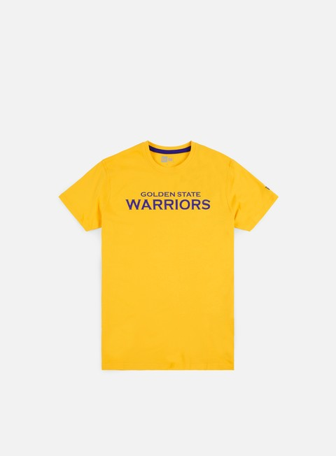 Short Sleeve T-shirts New Era NBA Team Pop Logo T-shirt Golden State Warriors