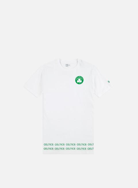 Outlet e Saldi T-shirt a Manica Corta New Era NBA Team Wordmark T-shirt Boston Celtics