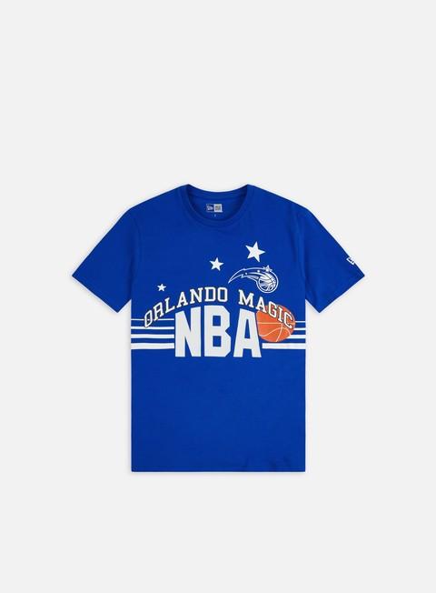 Outlet e Saldi T-shirt a Manica Corta New Era NBA Throw Back T-shirt Orlando Magic