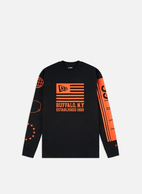 Long Sleeve T-shirts New Era NE Graphic LS T-shirt