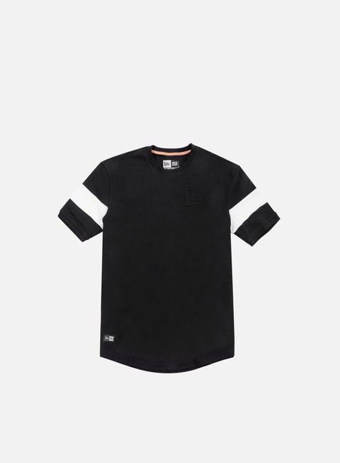 t shirt new era neue luxx long line t shirt black