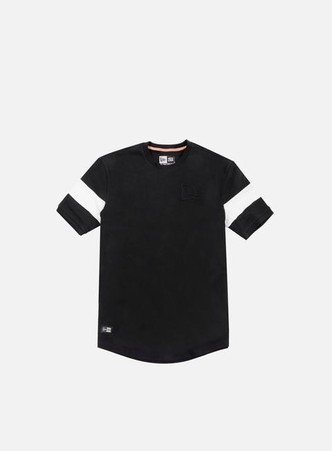 t shirt new era neue luxx long line t shirt black