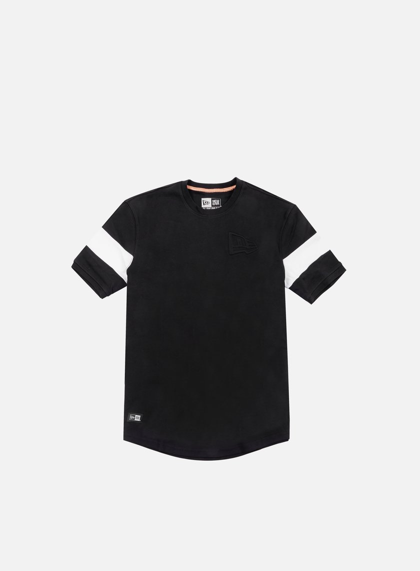 New Era - Neue Luxx Long Line T-shirt, Black