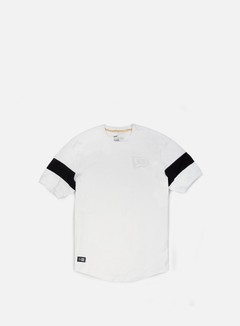 New Era - Neue Luxx Long Line T-shirt, White