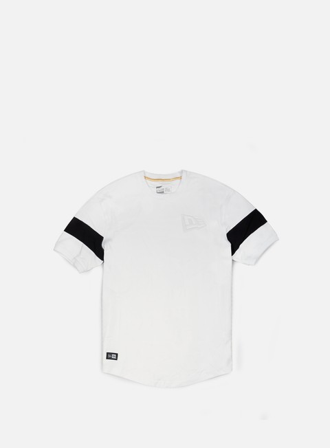 t shirt new era neue luxx long line t shirt white