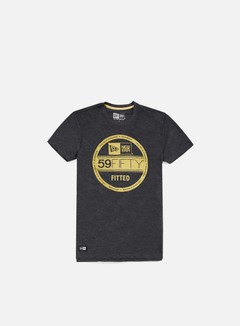 New Era - Neue Luxx Met Vs T-shirt, Dark Grey Heather 1