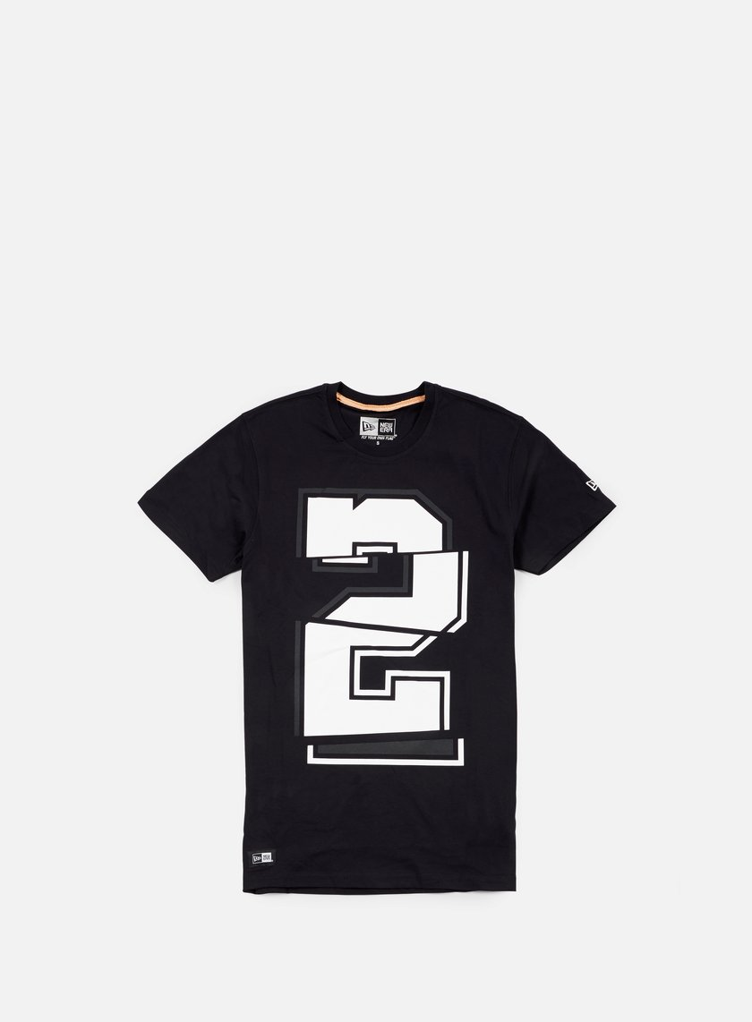 New Era - Neue Luxx Number T-shirt, Black