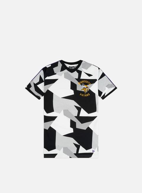 Outlet e Saldi T-shirt a Manica Corta New Era NFL Aop Oversized T-shirt Minnesota Vikings