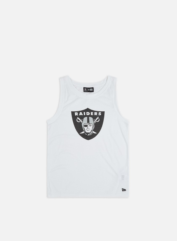 New Era NFL Logo Tank Las Vegas Raiders