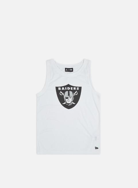 T-shirt Squadre Sportive New Era NFL Logo Tank Oakland Raiders