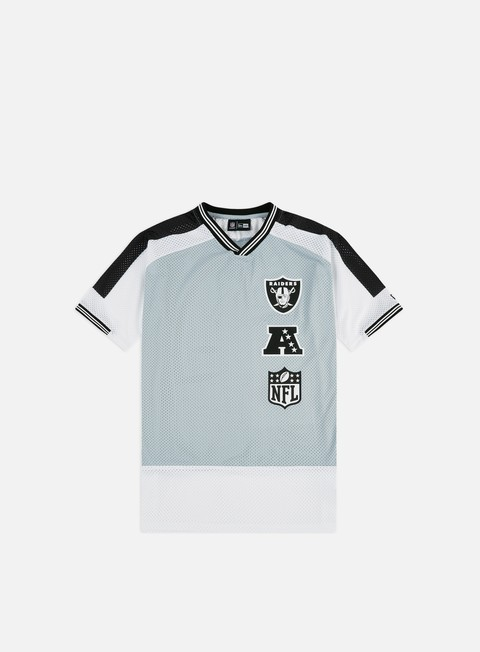 Outlet e Saldi T-shirt a Manica Corta New Era NFL Stacked Logo Oversized T-shirt Oakland Raiders