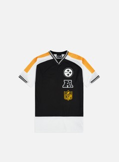 New Era NFL Stacked Logo Oversized T-shirt Pittsburgh Steelers