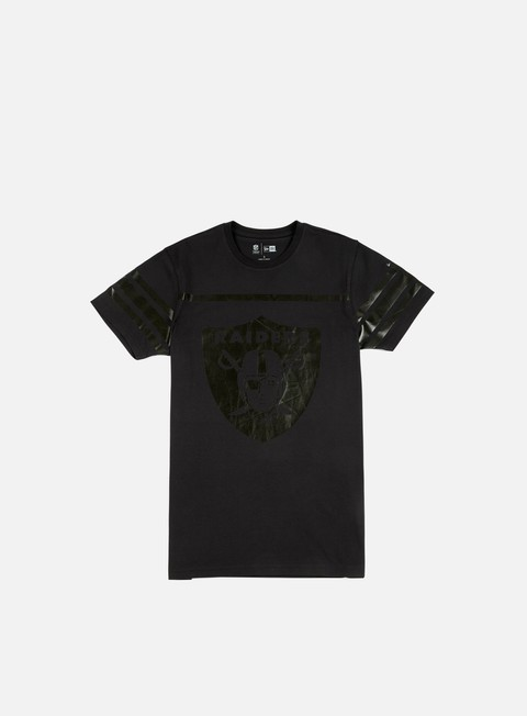 t shirt new era nfl triple t shirt oakland raiders black