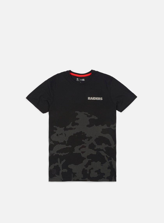New Era - NTC Reflective Camo T-shirt Oakland Raiders, Black