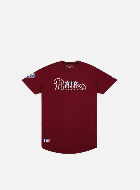 t shirt new era post grad pack wordmark t shirt philadelphia phillies red
