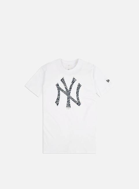Outlet e Saldi T-shirt a Manica Corta New Era Print Infill T-shirt NY Yankees