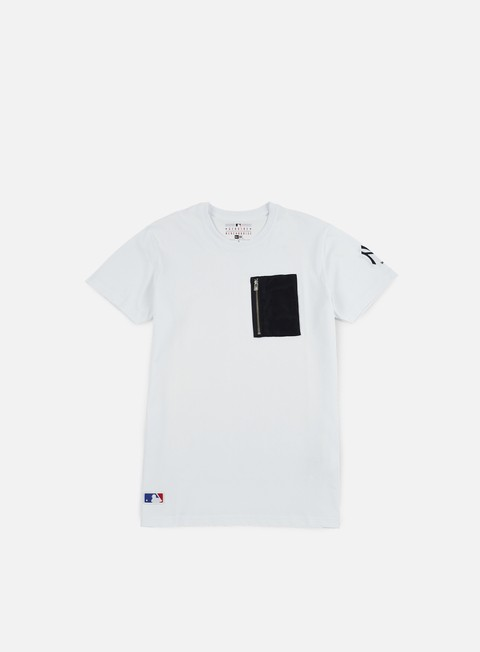 Outlet e Saldi T-shirt a Manica Corta New Era Remix II Pocket T-shirt NY Yankees