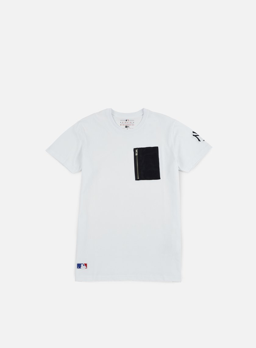 New Era - Remix II Pocket T-shirt NY Yankees, White