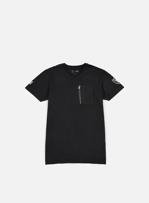 t shirt new era remix ii pocket t shirt oakland raiders black