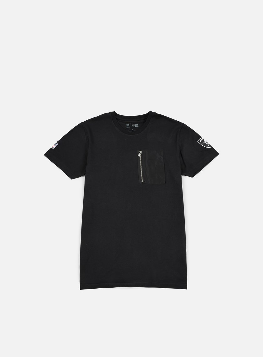 New Era - Remix II Pocket T-shirt Oakland Raiders, Black