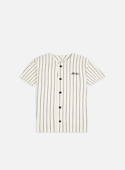 Outlet e Saldi T-shirt a Manica Corta New Era Stripe Jersey