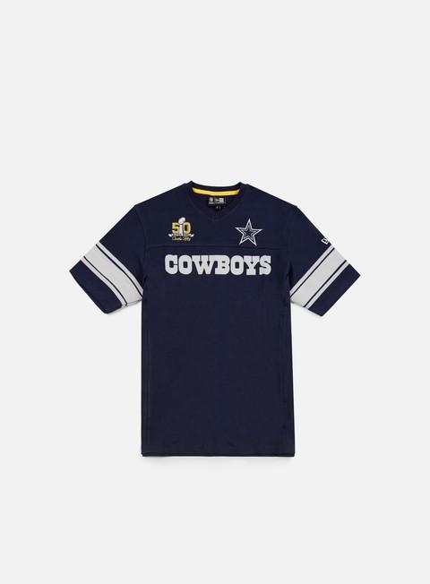 Outlet e Saldi T-shirt a Manica Corta New Era Super Bowl 50 Jersey Dallas Cowboys