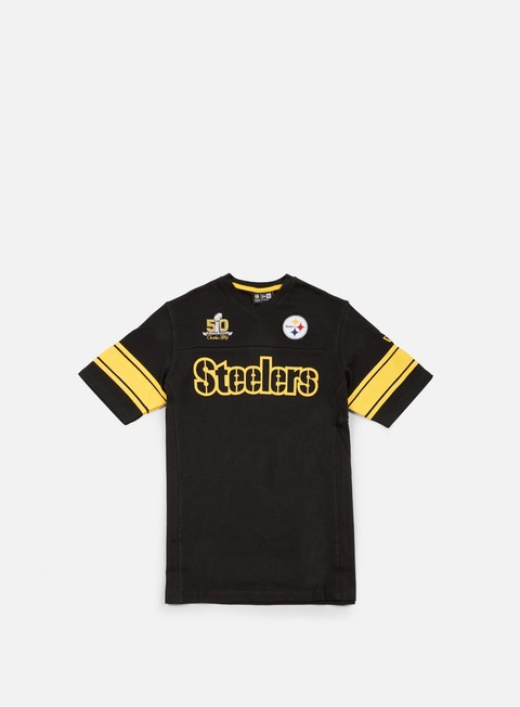 t shirt new era super bowl 50 jersey pittsburgh steelers black