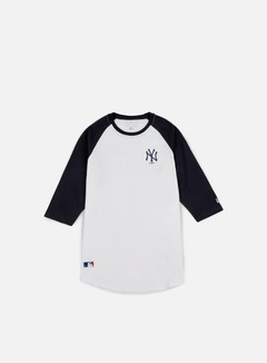 New Era - TA 3/4 Raglan T-shirt NY Yankees, White 1