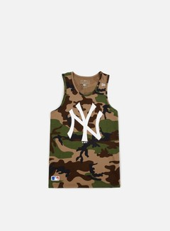 New Era - Team App Logo Tank NY Yankees, Camo 1