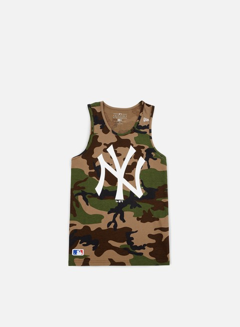 Sport Team T-shirts New Era Team App Logo Tank NY Yankees