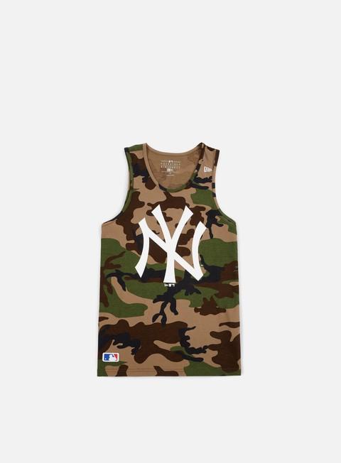 Canotte New Era Team App Logo Tank NY Yankees