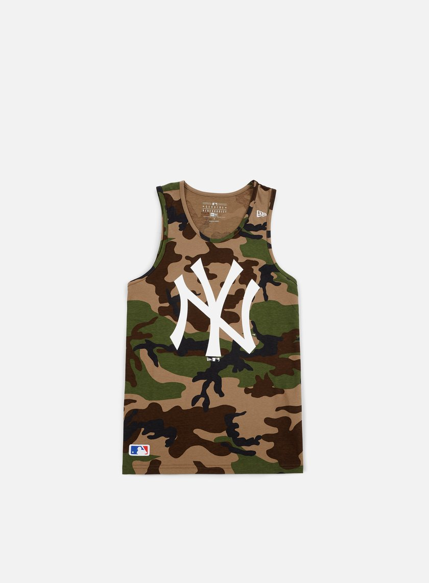 New Era - Team App Logo Tank NY Yankees, Camo
