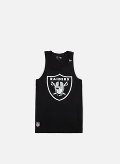 New Era - Team App Logo Tank Oakland Raiders, Black 1