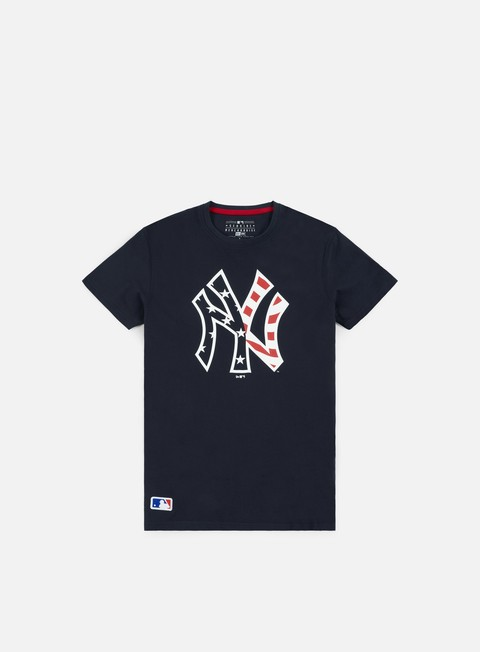 t shirt new era team apparel infill logo t shirt ny yankees navy