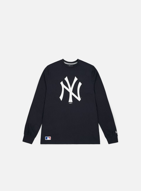 Outlet e Saldi T-shirt a Manica Lunga New Era Team Apparel LS T-shirt New York Yankees